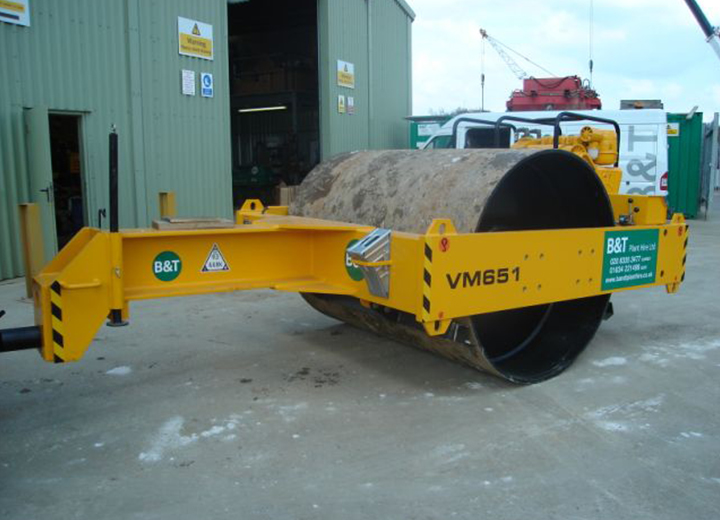 JCB VM651 Towed Roller