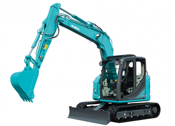 NEW HOLLAND/ KOBELCO E 80 MSR